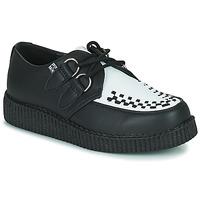Παπούτσια Derby TUK VIVA LOW TOE CREEPER Black / Άσπρο