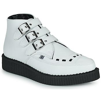 Παπούτσια Μπότες TUK POINTED CREEPER 3 BUCKLE BOOT Άσπρο