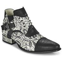 Παπούτσια Άνδρας Derby New Rock M-NW135-C12 Άσπρο / Black