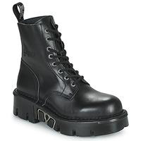Παπούτσια Μπότες New Rock M-MILI084N-S3 Black
