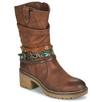 Παπούτσια Γυναίκα Μποτίνια MTNG 50003-C52072 Cognac