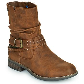 Παπούτσια Γυναίκα Μπότες MTNG 51892-C52072 Cognac