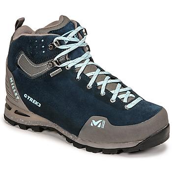 Παπούτσια Γυναίκα Πεζοπορίας Millet G TREK 3 GORETEX Green / Μπλέ