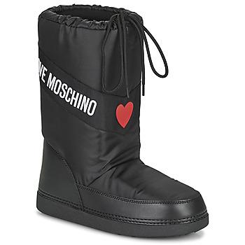 Παπούτσια Γυναίκα Snow boots Love Moschino JA24032G1D Black