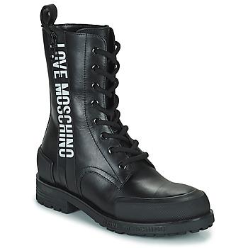 Παπούτσια Γυναίκα Μπότες Love Moschino JA24184G1D Black