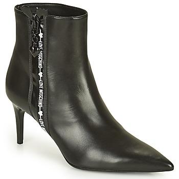Παπούτσια Γυναίκα Μποτίνια Love Moschino JA21107G1D Black