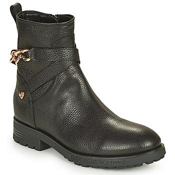 Παπούτσια Γυναίκα Μπότες Love Moschino JA21084G1D Black
