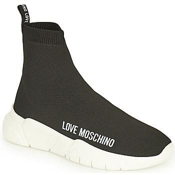 Παπούτσια Γυναίκα Ψηλά Sneakers Love Moschino JA15343G1D Black