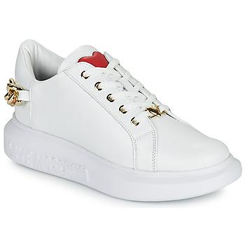Παπούτσια Γυναίκα Χαμηλά Sneakers Love Moschino JA15144G1D Άσπρο