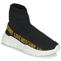 Παπούτσια Γυναίκα Ψηλά Sneakers Love Moschino JA15633G0D Black