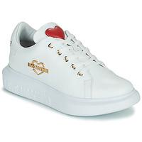 Παπούτσια Γυναίκα Χαμηλά Sneakers Love Moschino JA15204G0D Άσπρο