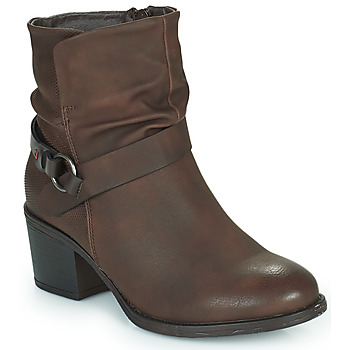 Παπούτσια Γυναίκα Μποτίνια Emmshu FLEUR Brown