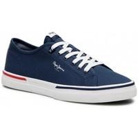 Παπούτσια Άνδρας Χαμηλά Sneakers Pepe jeans Kenton Smart Μπλε