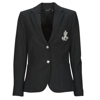 Υφασμάτινα Γυναίκα Σακάκι / Blazers Lauren Ralph Lauren ANFISA-LINED-JACKET Black