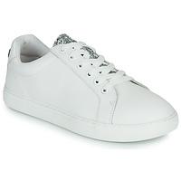 Παπούτσια Γυναίκα Χαμηλά Sneakers Bons baisers de Paname SIMONE EYES Άσπρο