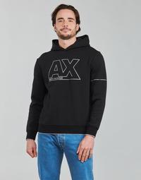 Υφασμάτινα Άνδρας Φούτερ Armani Exchange 6KZMFF Black
