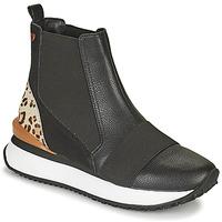Παπούτσια Γυναίκα Ψηλά Sneakers Gioseppo LUNNER Black / Leopard
