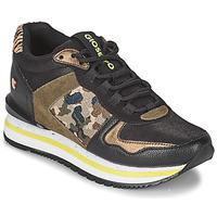 Παπούτσια Γυναίκα Χαμηλά Sneakers Gioseppo GRAZ Black / Kaki