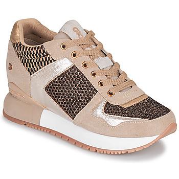 Παπούτσια Γυναίκα Χαμηλά Sneakers Gioseppo LILESAND Beige / Gold
