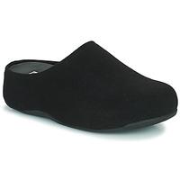 Παπούτσια Γυναίκα Σαμπό FitFlop SHUV FELT Black