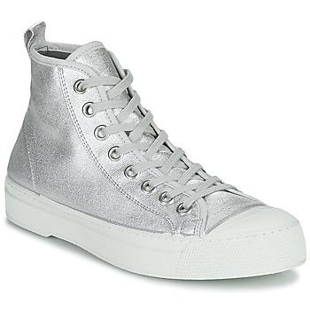 Παπούτσια Γυναίκα Χαμηλά Sneakers Bensimon STELLA B79 SHINY CANVAS Silver