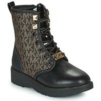 Παπούτσια Κορίτσι Μπότες MICHAEL Michael Kors HASKELL Black / Gold