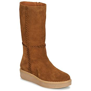 Παπούτσια Γυναίκα Μπότες για την πόλη Castaner NUCHA Cognac