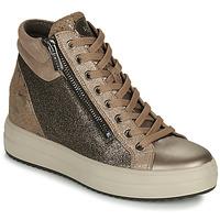 Παπούτσια Γυναίκα Ψηλά Sneakers IgI&CO DONNA SHIRLEY Beige / Gold