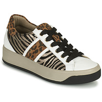Παπούτσια Γυναίκα Χαμηλά Sneakers IgI&CO DONNA AVA Άσπρο / Brown