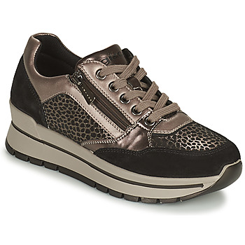 Παπούτσια Γυναίκα Χαμηλά Sneakers IgI&CO DONNA ANISIA Silver / Black
