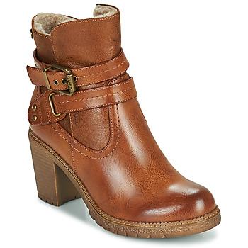 Παπούτσια Γυναίκα Μποτίνια Refresh 78969 Camel