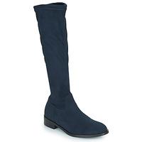 Παπούτσια Γυναίκα Μπότες για την πόλη JB Martin AMOUR Μπλέ