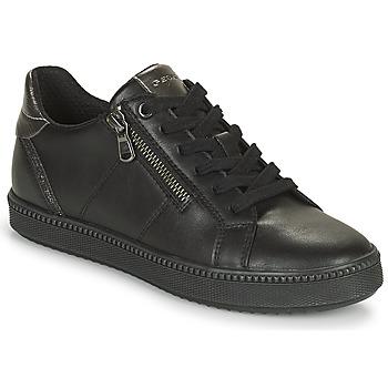 Παπούτσια Γυναίκα Χαμηλά Sneakers Geox BLOMIEE Black