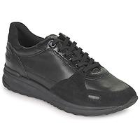 Παπούτσια Γυναίκα Χαμηλά Sneakers Geox AIRELL Black