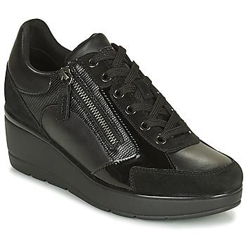 Xαμηλά Sneakers Geox ILDE ΣΤΕΛΕΧΟΣ: Δέρμα και συνθετικό & ΕΠΕΝΔΥΣΗ: Συνθετικό και ύφασμα & ΕΣ. ΣΟΛΑ: Δέρμα βοοειδούς & ΕΞ. ΣΟΛΑ: Συνθετικό
