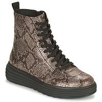 Παπούτσια Γυναίκα Μπότες Geox PHAOLAE Brown