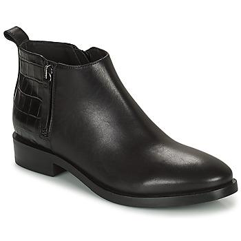 Παπούτσια Γυναίκα Μποτίνια Geox BROGUE Black