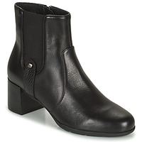Παπούτσια Γυναίκα Μποτίνια Geox ANNYA Black