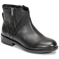 Παπούτσια Γυναίκα Μποτίνια Geox CATRIA Black