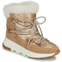 Παπούτσια Γυναίκα Snow boots Geox FALENA Beige / Gold