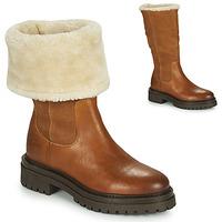 Παπούτσια Γυναίκα Μπότες Geox IRIDEA Brown