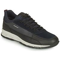 Παπούτσια Άνδρας Χαμηλά Sneakers Geox DELRAY WPF Marine / Black