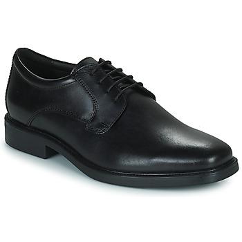 Παπούτσια Άνδρας Derby Geox BRANDOLF Black