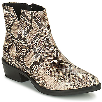 Παπούτσια Γυναίκα Μπότες Geox TEOCLEA Beige
