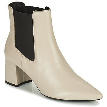 Παπούτσια Γυναίκα Μποτίνια Geox BIGLIANA Beige