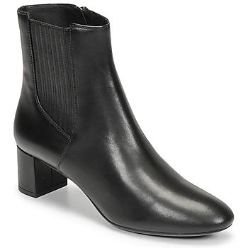 Παπούτσια Γυναίκα Μποτίνια Geox PHEBY 50 Black