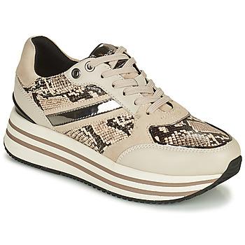 Παπούτσια Γυναίκα Χαμηλά Sneakers Geox KENCY Beige