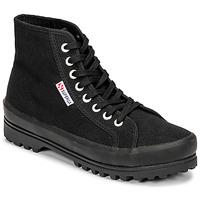 Παπούτσια Γυναίκα Ψηλά Sneakers Superga 2341 ALPINA COTU Black