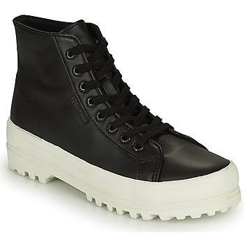 Ψηλά Sneakers Superga 2341 ALPINA NAPPA ΣΤΕΛΕΧΟΣ: Δέρμα & ΕΠΕΝΔΥΣΗ: Ύφασμα & ΕΣ. ΣΟΛΑ: Ύφασμα & ΕΞ. ΣΟΛΑ: Καουτσούκ