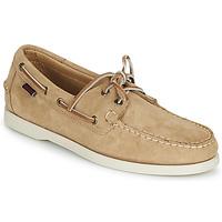 Παπούτσια Άνδρας Boat shoes Sebago PORTLAND FLESH OUT Beige